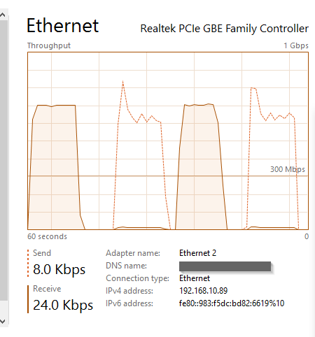 Slow Wi-Fi speed while watching TV since Merlin version