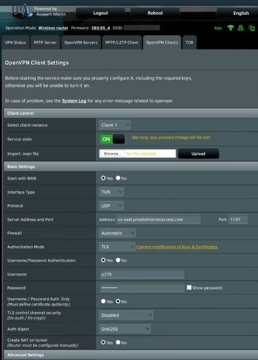 OpenVPN Inactivity timeout (--ping-restart), restarting