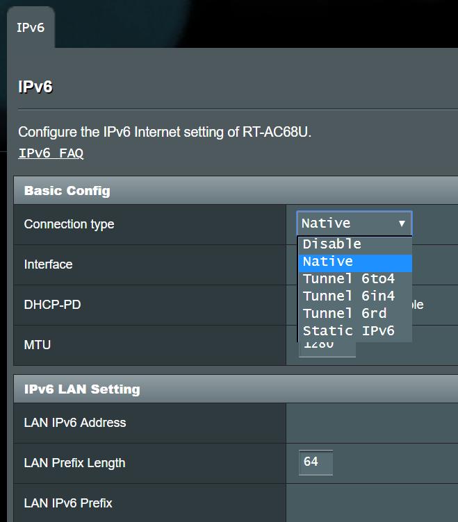 Fork] Missing IPv6 options (v33E7) | SmallNetBuilder Forums