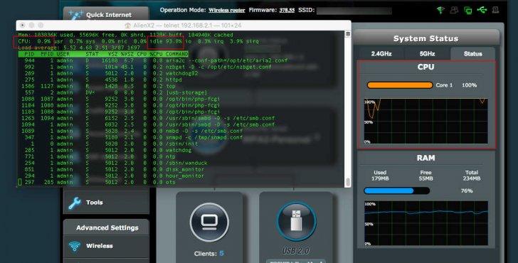 too much CPU??   SmallNetBuilder Forums