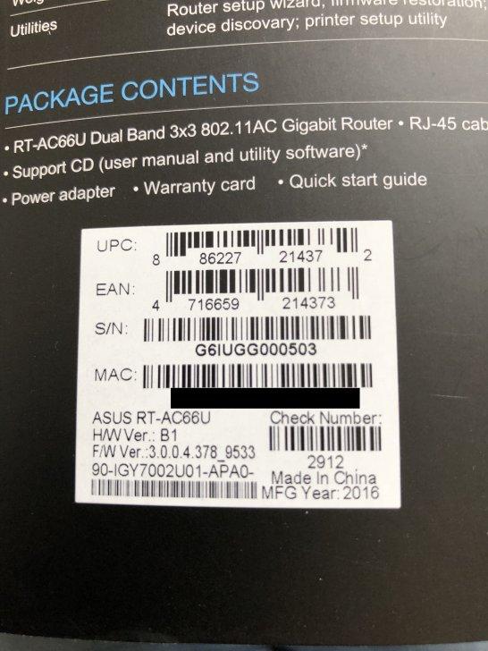 rt-ac66u b1 firmware wont update