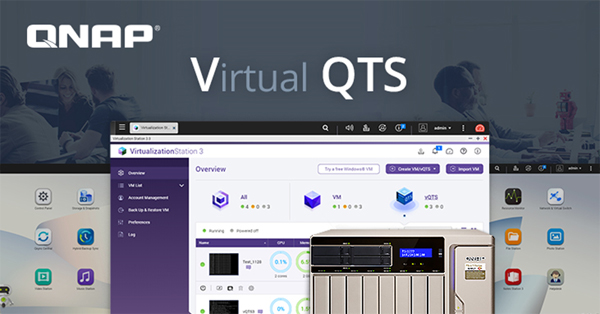 QNAP Virtual QTS Now Available On TS-x77 NAS Series