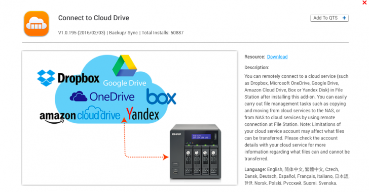 Anybody using a cloud service to backup their QNAP NAS