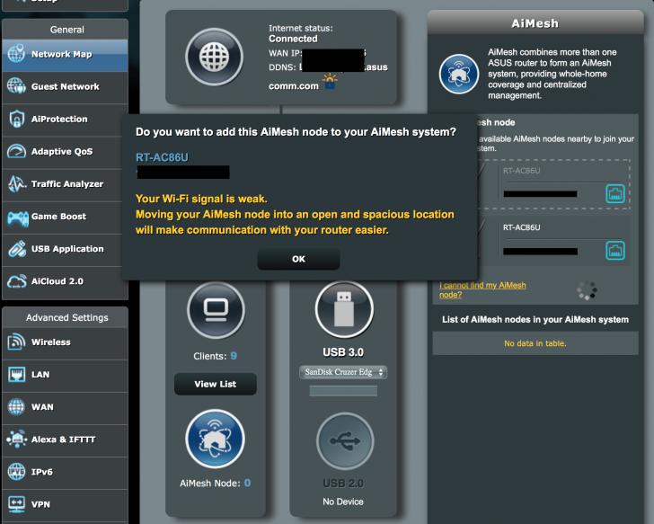 ASUS RT-AC5300 Firmware version 3 0 0 4 384 32738