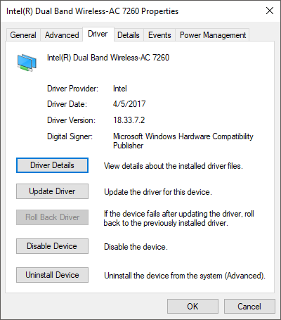 intel 7265 driver windows 8.1