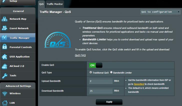 No Adaptive QOS?   SmallNetBuilder Forums