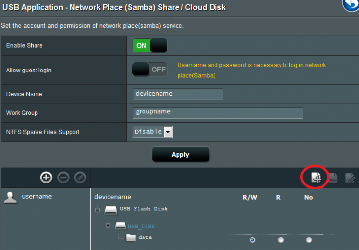 Laptops cannot access shared USB drive on AC68U while FireTV with