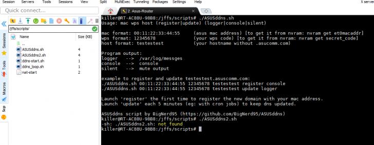 DDNS custom script for use with asus com | SmallNetBuilder