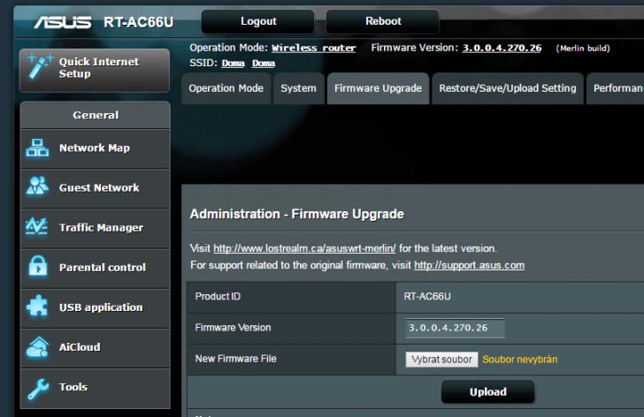 Downgraded firmware after power lost | SmallNetBuilder Forums