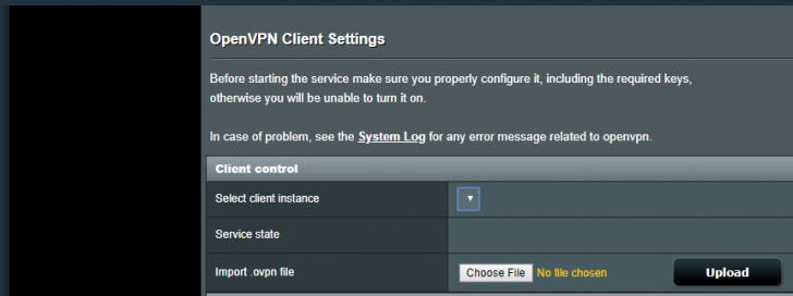 VPN Client no longer shows service state / can't update