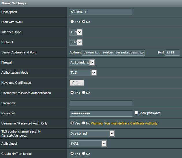 PIA VPN keeps giving Connecting error | SmallNetBuilder Forums