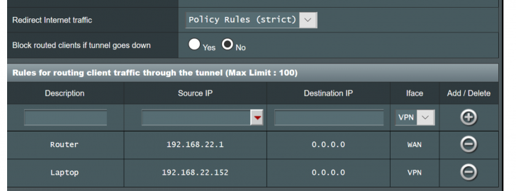 route certain domains through client vpn   Page 2   SmallNetBuilder