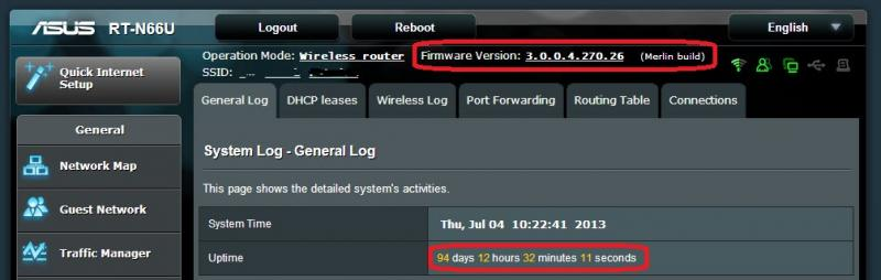 New RT-N66U Firmware release from Asus | SmallNetBuilder Forums