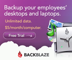 Get Backblaze Now!